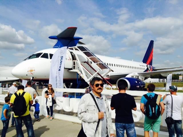ロシア最大の航空見本市MAKS2015がモスクワ近郊のジュコフスキーで開催