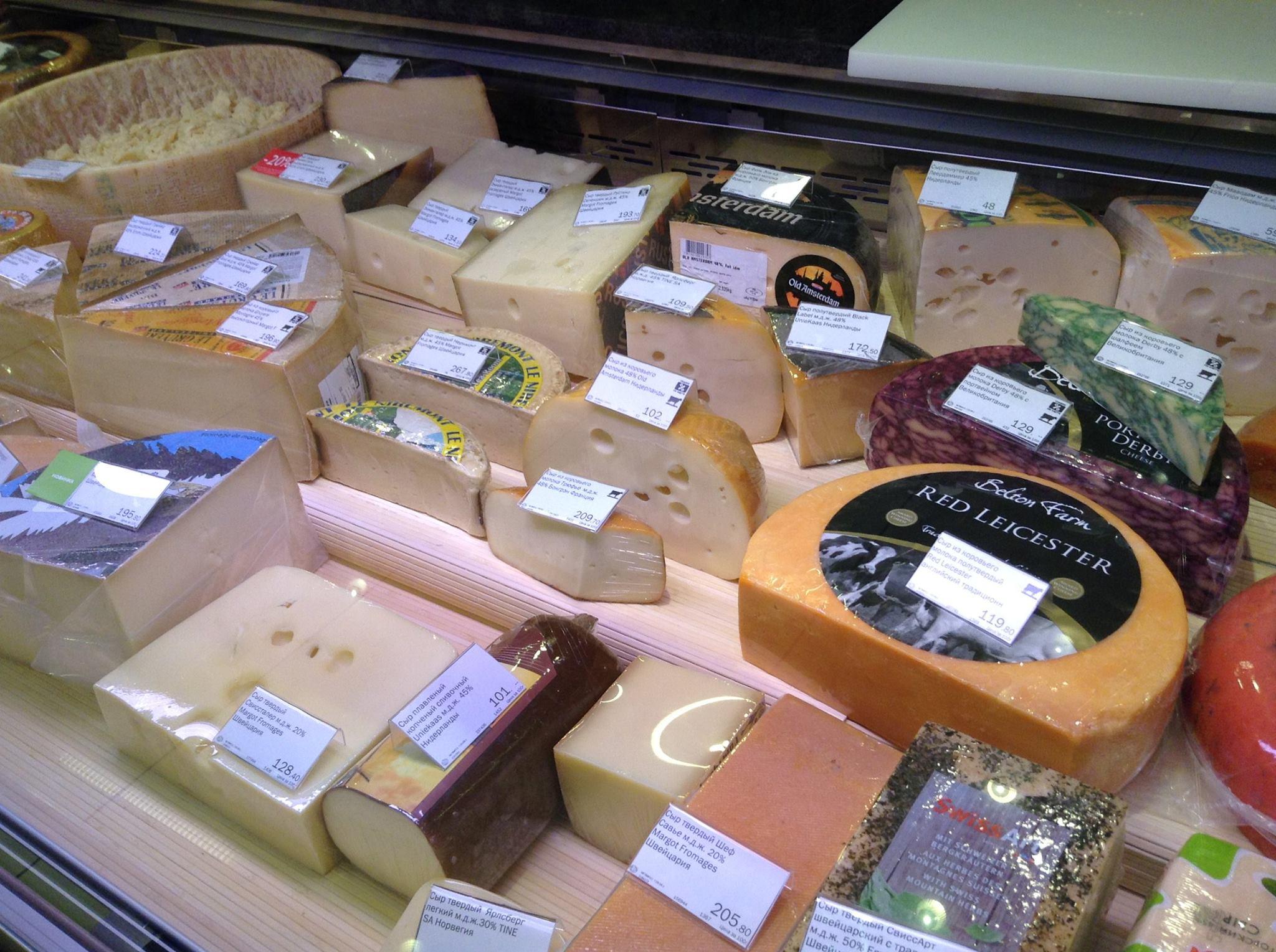 ロシアの食品禁輸の影響 -フランスチーズが消えた日-