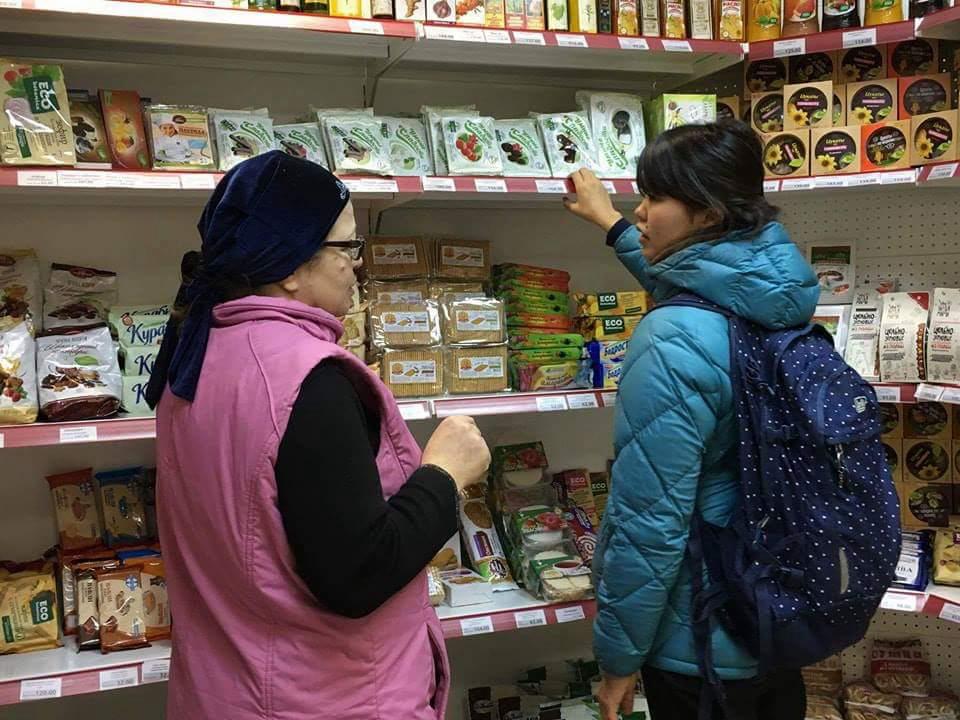 「グルテンフリー食品を扱う健康食品専門店に行ってみたinサンクトペテルブルク」